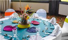 Banquet Event - Bird of Paradise Centerpiece