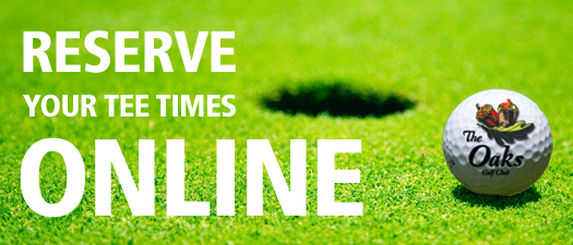 Reserve your tee times online