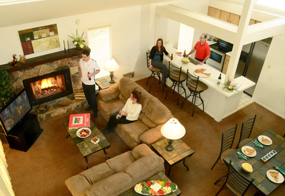 Estate Complex 1-6 Bedroom Houses in Tan-Tar-A Resort, Missouri